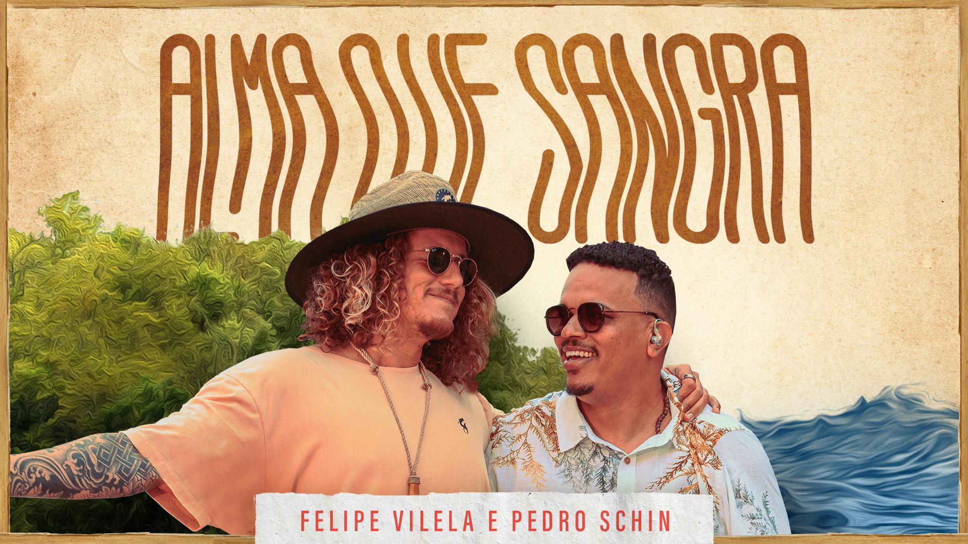 """O Rapper Felipe Vilela apresenta """"Alma que Sangra"""" , em colaboração com Pedro Schin"""