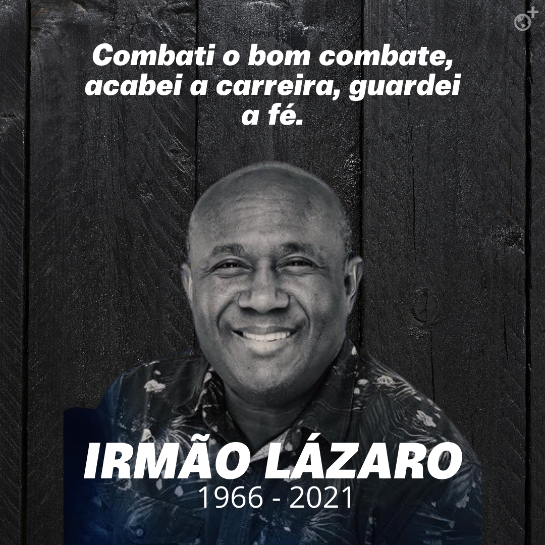 Morre o cantor Irmão Lázaro vítima das complicações do COVID-19