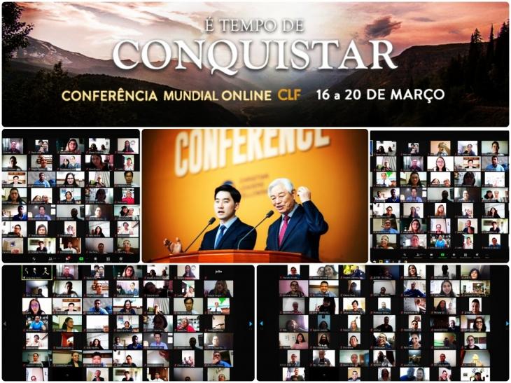 Conferência Mundial Online Ultrapassa barreiras Inter denominacionais e de distância