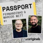"""Deezer une fenômeno do gospel nacional Fernandinho com o artista americano vencedor do grammy Marcos Witt para a estreia do projeto """"Deezer Passport"""""""