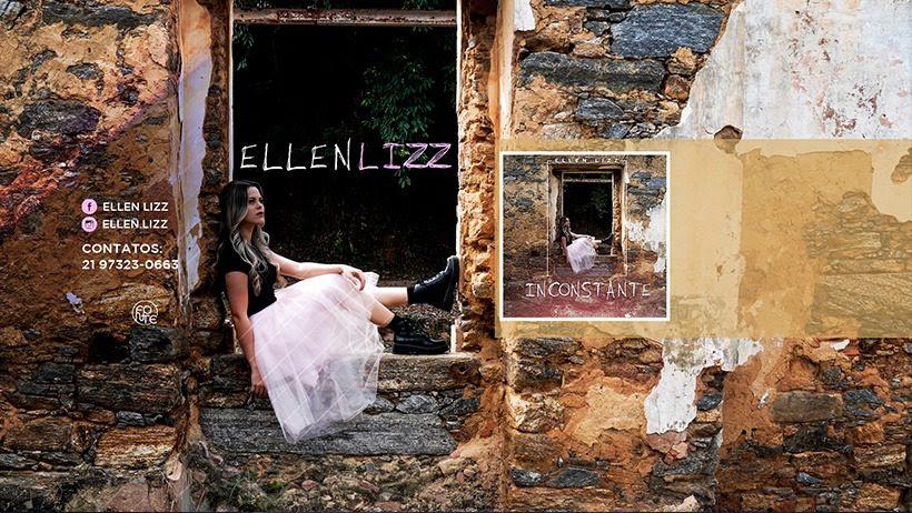 """Com influência da música pop, Ellen Lizz apresenta sua nova música de trabalho """"Inconstante"""""""